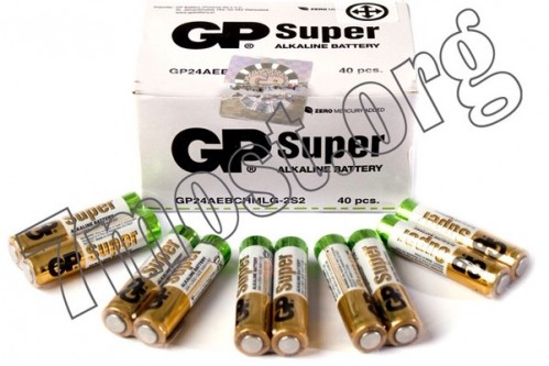 Батарейка LR06 GP SUPER-1-1 (1000)