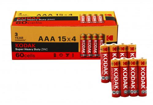 Батарейка R03 Kodak в спайке 4шт, уп. 60шт  (2400/60)