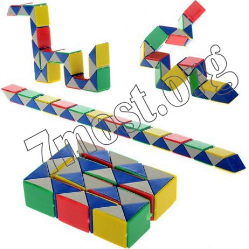 Кубик №666-15-В пл. в кл. бол. из старого материала (480)