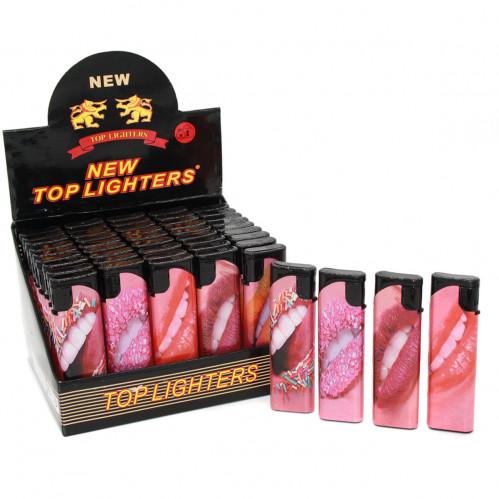 Зажигалка №6016 (6015) слайдер губы (1000/50)