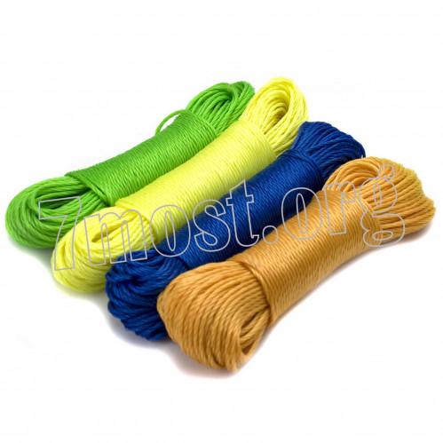 Верёвка хоз. №РР-3,0-10 хоз. РР 4цв 3,0мм*10м в кл. (360)