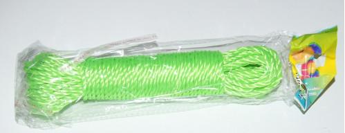 Верёвка хоз. №РЕ-4-20 РЕ 4цв 4мм*20яр в кл. (360)