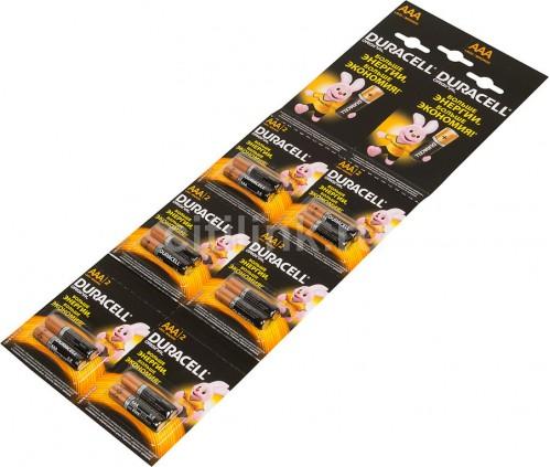 Батарейка LR03 Duracell 2шт на блистере 12шт на листе (120)