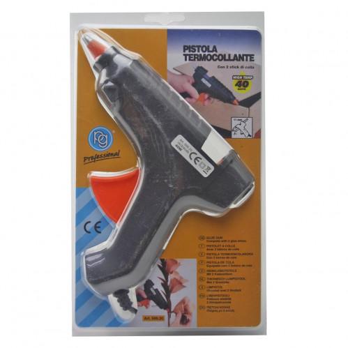 Пистолет №1 металопл. б/выкл. д/сух. клея бол. от розетки на листе (96)
