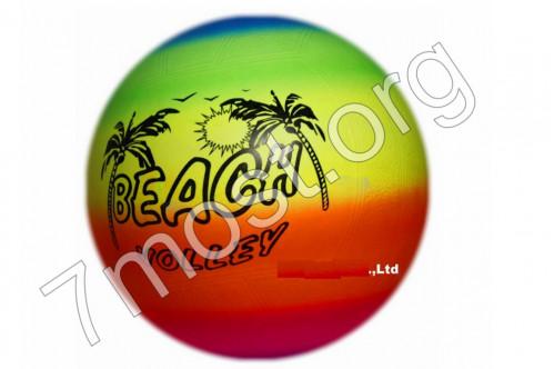 Мяч №М-24-6 волейбольный пл. Pvc 24см 6рис (500)