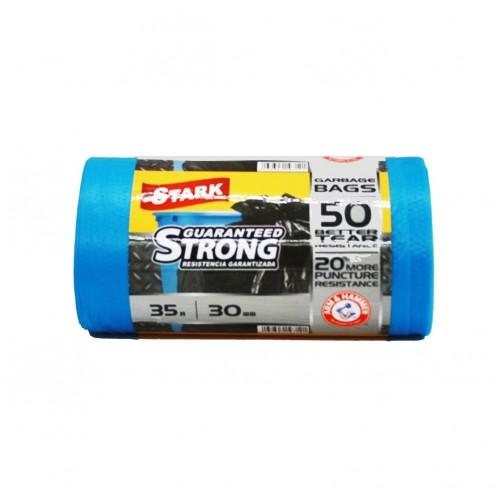 Пакет Stark №35*30 синий 35л в рул. 30шт (50)