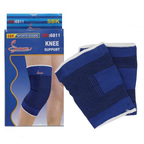 Бинт №6811 эластичный на колено 2шт в упак. рез. син. цв. (14*21,2)см в кор. (300)