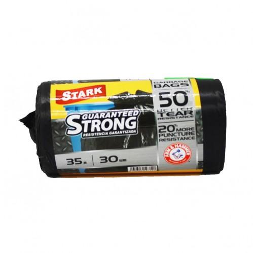 Пакет Stark №35*30 чёрный 35л в рул. 30шт (50)
