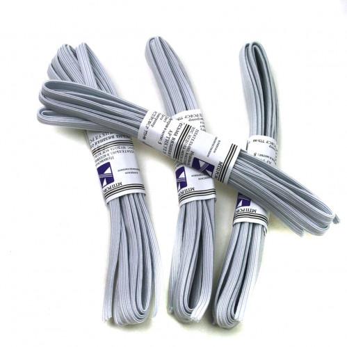Резинка д/белья №РВ2-3-3 (0,7*230)см 4шт в ср. уп. бел. цвет (480)