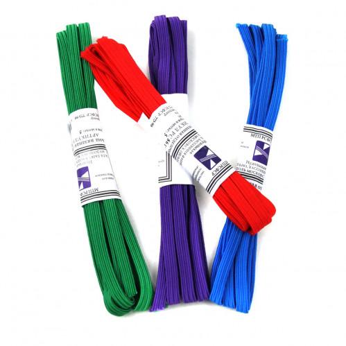 Резинка д/белья №РВ2-3-2 (0,7*230)см 4шт в ср. уп. цвет. 4 цвета (480)