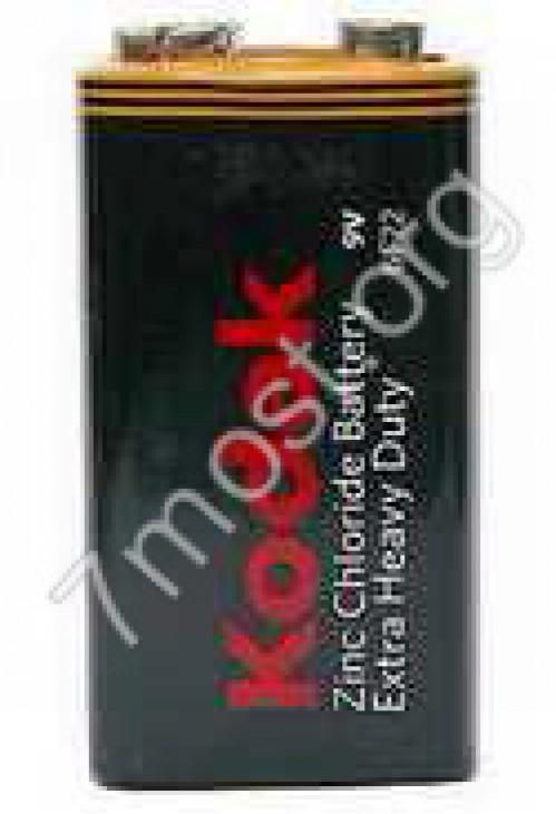 Батарейка 6F22 Kodak кор. (100/10)