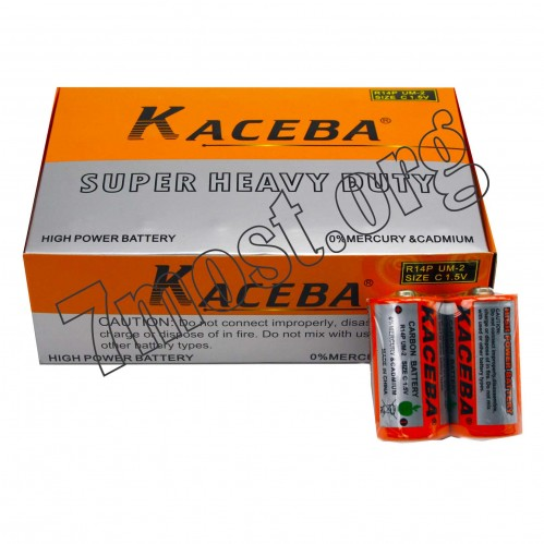 Батарейка R14-K KASEBA палоч. 1,5v 24шт в кор. (432)