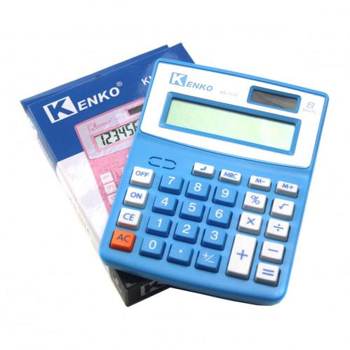 Калькулятор №KN-111A 8цифр 1AG10 4цв. в кл. и кор. (2,6*11,6*13,8)см (160)