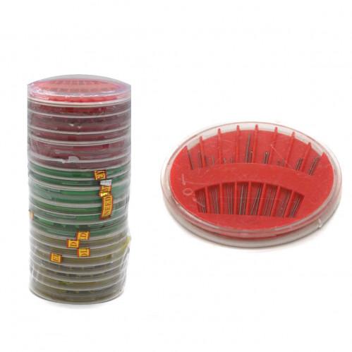 Иголки №И-16 для шитья в круг. по. 16шт в ср. пачке 24 пластины (960)