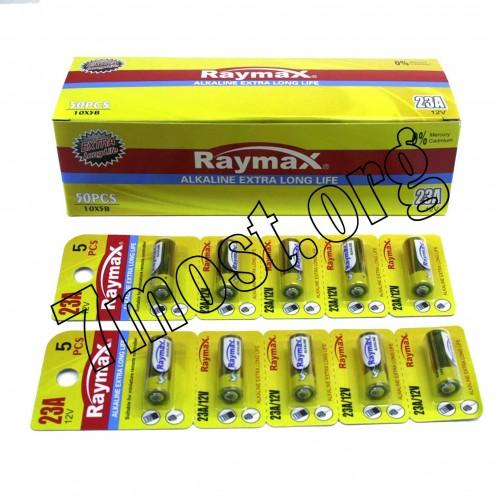 Батарейка Raymax 23A 12V blister card/5pcs (500/50)