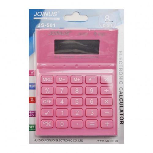 Калькулятор №JS-501 (501) 8цифр цвет. 4цв на листе 2R3 (120)