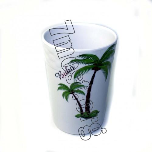 Стакан №017 для воды меламин. (10*7,5)см (240)