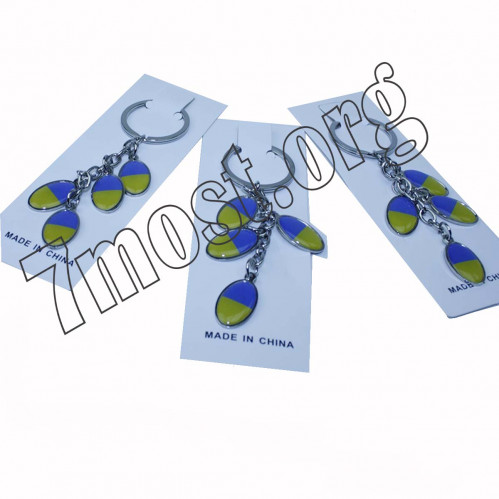 Брелок №ВК-Р-7 для ключ. метал. религ. на листе в ср. пач. 12шт (2400)