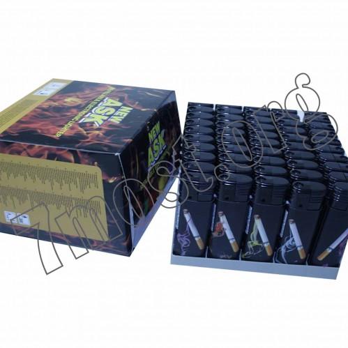 Зажигалка №6118-3 турбо сигар. без фонарика (1000)