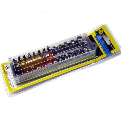 Отвёртка №XS-128-28PC с насад. 28шт в кор. (60)