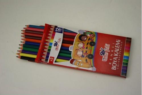 Карандаш №712К цветной 12цветов в пач. (240)