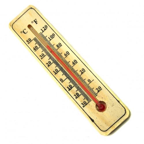 Термометр №6174А дерев. комн. с крюч. (600)