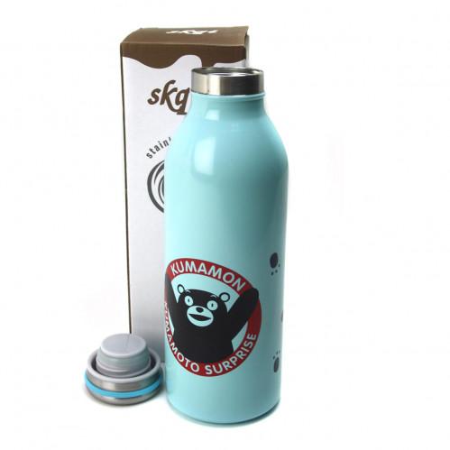 Бутылка №1042 термос для воды 3цв 350мл метал. (50)