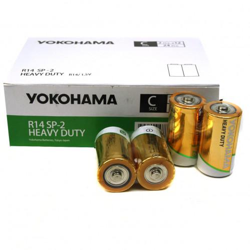 Батарейка R14 Yokohama кор.2 24шт в пач. (480)