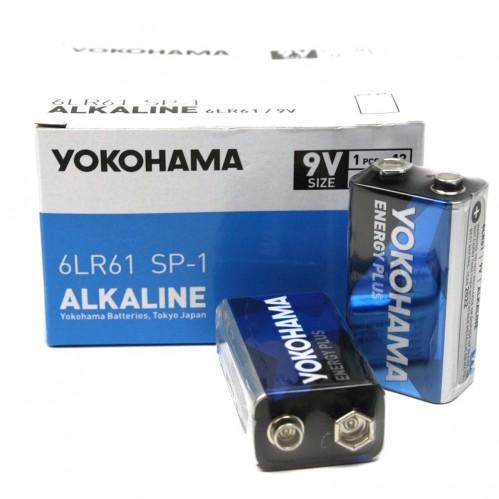 Батарейка 6LR61 Yokohama алкалайн 12шт в пач. (288)