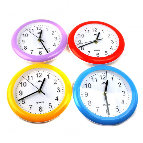 Часы №MS-88690 настен. пл. круг. 4цв (56*48*72)см (72)