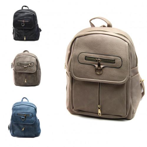 Рюкзак №PG-722-1 жен./подр. Pu на спине и руч. 1магн. кноп. 4зм (34*28,5*20)см 4цв (48)