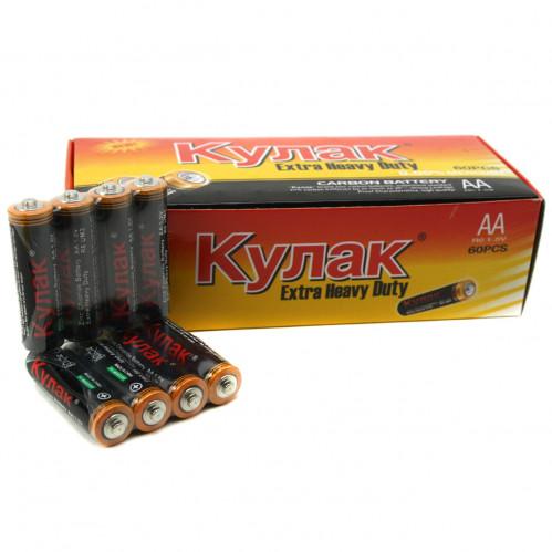 Батарейка R06 Кулак кор.4 (1200)