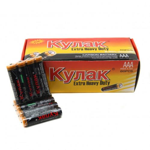 Батарейка R03 Кулак кор.4 (1200)