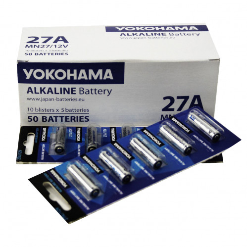 Батарейка №27А Yokohama 5шт на бистере (50)