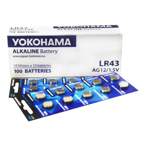 Батарейка №LR43 Yokohama (100)