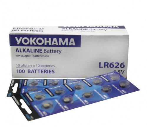 Батарейка №LR626 Yokohama (100)