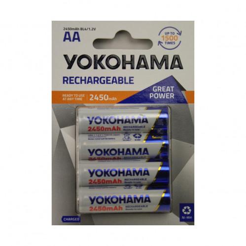 Аккумулятор LR6-BL-4 2450 Yokohama (40)