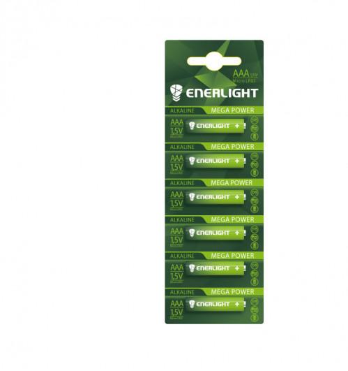 Батарейка LR03 ENERLIGHT блист. (480)