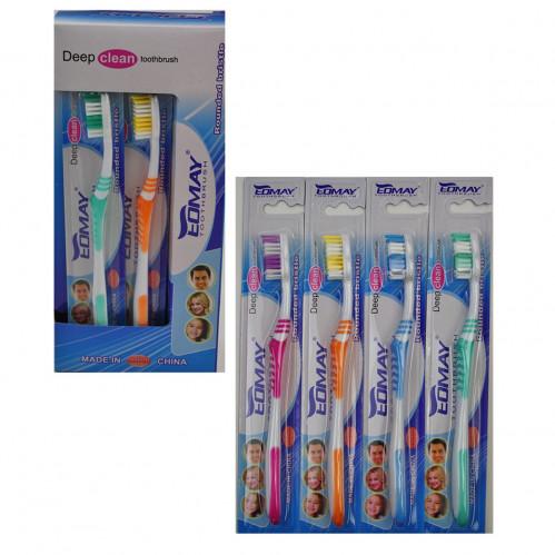 Зубная щётка №9924 взр. пл. 1шт на листе 12шт в коробке (576)