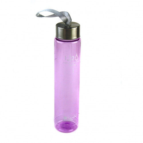 Бутылка пл. цветная прозр. 5цв (100)