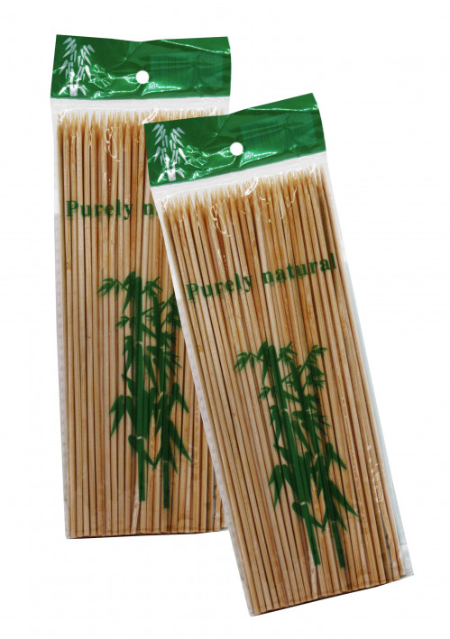 Палочка бамб. д/шашлыка 20см №пв-20 90шт в кл. с кодом (200)
