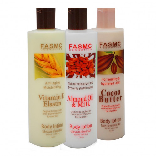 Лосьон №FM067 Пшеница с витамином Е для тела 500 мл (48)