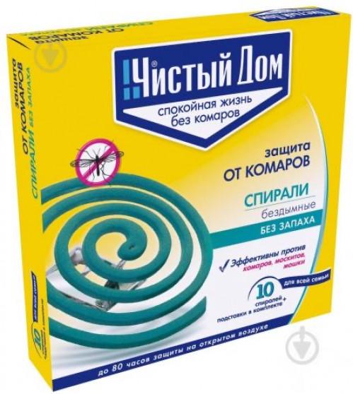 Спираль для комаров Чистый Дом (60)