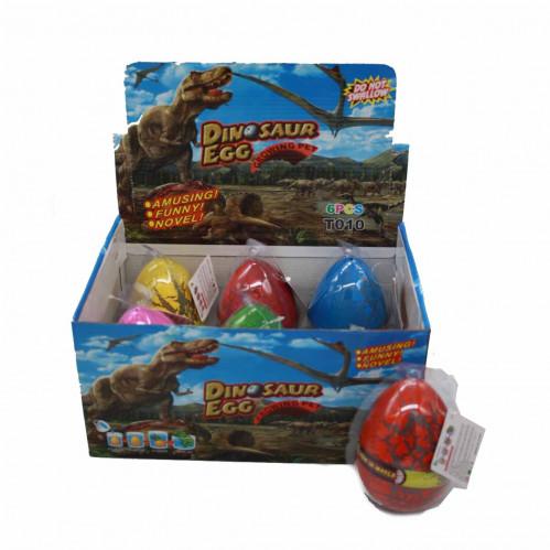 Игрушка №EG-4005 Волшебный Растениеводство вылупление яйца динозавров 6цв (13*10)см (72)