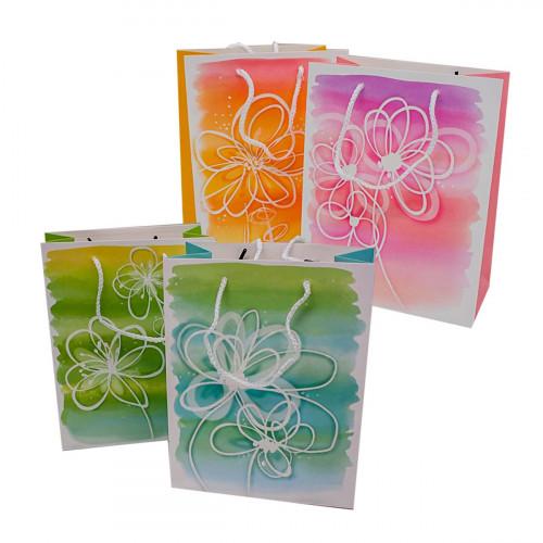 Пакет №3052L подарочный бумажный L (26*32*12)см (240)