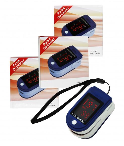 Пульсоксиметр с цветным экраном №Lk87 (200)