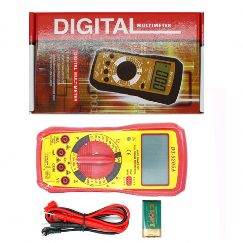 Мультиметр №А9205 цифровой тестер (60)