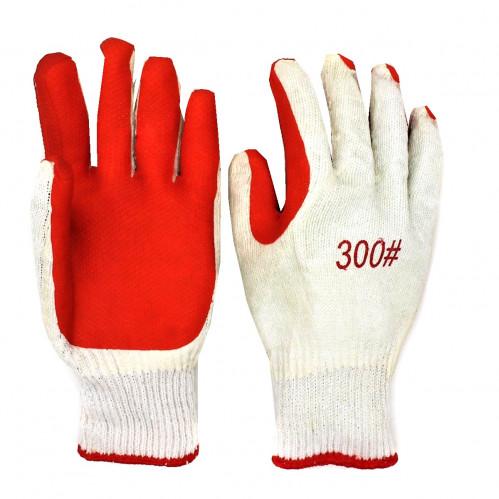 Перчатки №А1554-1 х/б залита пена (360)