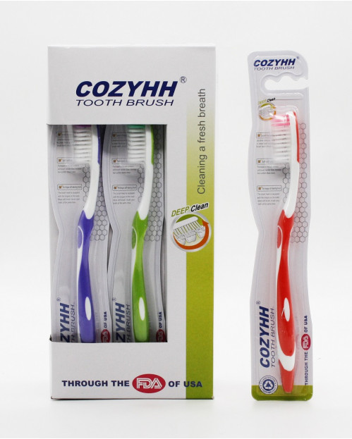 Зубная щетка №305 взрослая 12шт в кор. (576)