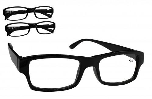 Очки №1522-А62-2 для зрения чёр. без чехла 20шт в упак. (500)